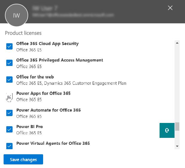 管理组织中的 Power Apps 许可证