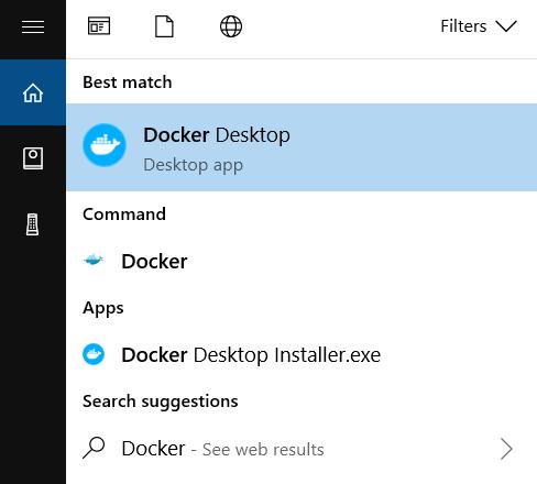 Windows 上安装 Docker 桌面
